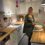 Worüber sollen wir denken um richtig unsere Küche zu organisieren?  Fototapete Küche als eine von den interessantesten Alternativen
